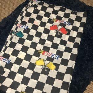 90's vintage nascar twin top sheet